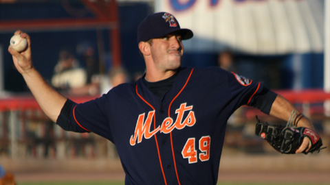 New York selected Matt Harvey with the seventh overall pick in the 2010 Draft.