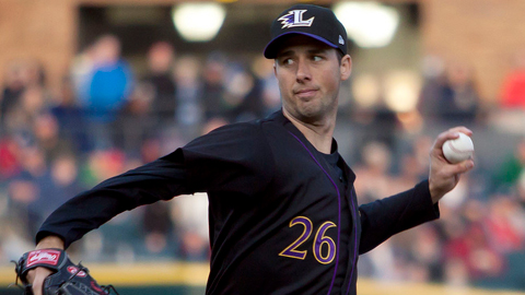 Jeff Francis leads the International League with 33 strikeouts.
