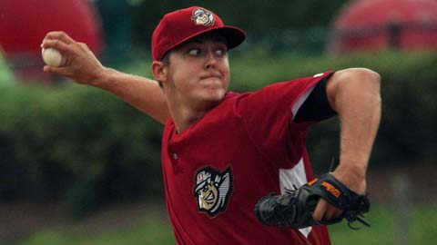 Jameson Taillon is holding Double-A opponents to a .139 batting average.